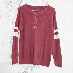 AEO Scoop Neck Ribbed Knit Sweater